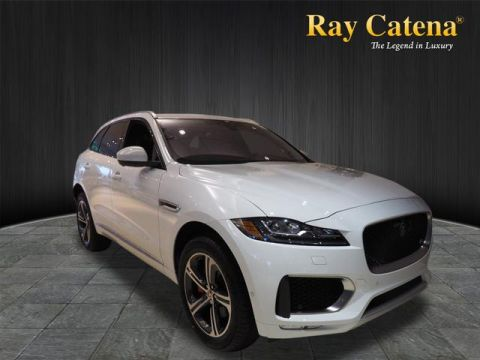 New 2018 Jaguar F-PACE S AWD