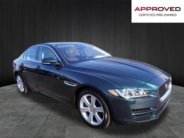 Certified Pre-Owned 2017 Jaguar XE 20d Prestige RWD 20d Prestige 4dr Sedan
