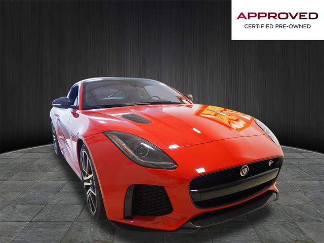 Certified Pre-Owned 2017 Jaguar F-TYPE SVR AWD