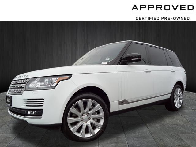 Certified Pre-Owned 2014 Land Rover Range Rover Supercharged LWB