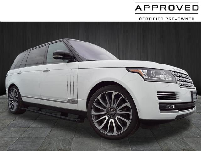 Certified Pre-Owned 2017 Land Rover Range Rover Autobiography LWB