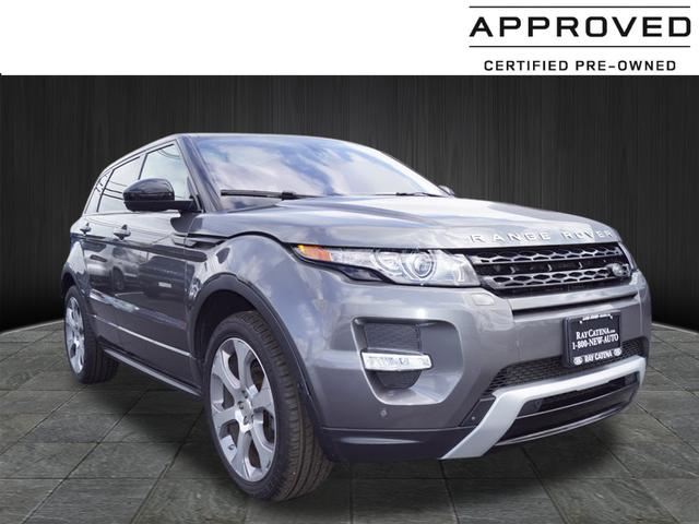Certified Pre Owned 2015 Land Rover Range Rover Evoque Dynamic 4