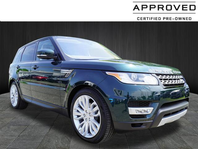 Certified Pre-Owned 2017 Land Rover Range Rover Sport HSE Td6