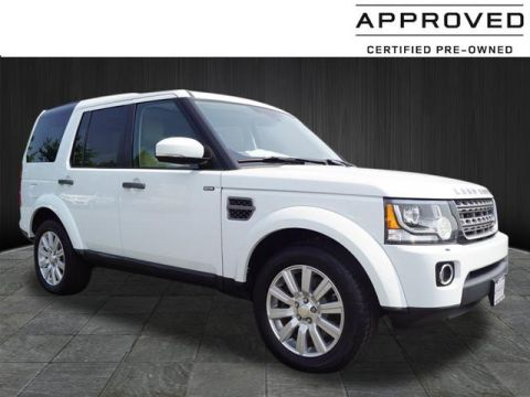Certified Pre-Owned 2014 Land Rover LR4