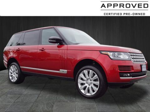 Certified Pre-Owned 2015 Land Rover Range Rover Supercharged LWB