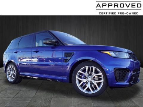 Certified Pre-Owned 2016 Land Rover Range Rover Sport SVR